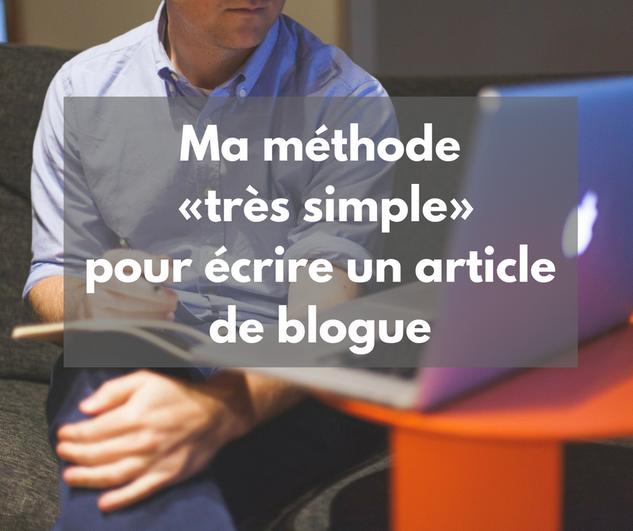article-blog-écrire